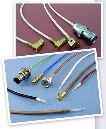 RF cable assemblies picture